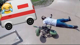 MINI BIKE FAILS & SLAMS!