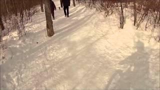 Winter Mountain Biking: Quesnell Bridge to...