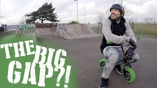 THE BIG GAP FAIL | MINIBIKE MISSIONS #3