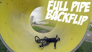 FULLPIPE BACKFLIP | Riding BMX #2