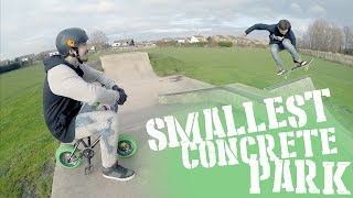 'MINI BIKE MISSIONS' #2 : Smallest Concrete Park!