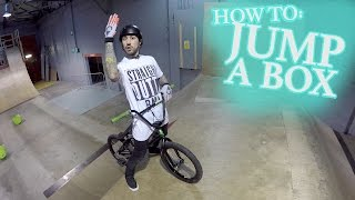How to Jump a BMX Bike - Harry Main