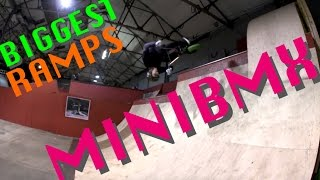 BIGGEST Ramps on the MINIBMX | Harry Main