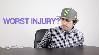My WORST Injury! | Harry Main