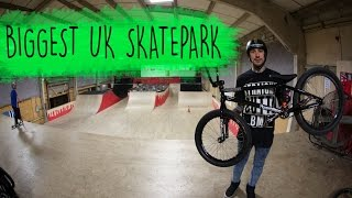 THE Biggest Skatepark with Harry Main!