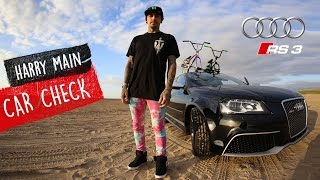 My BMX car check - Audi rs3 with Harry Main