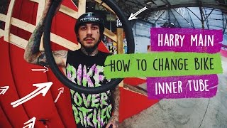 How to Change a Bike Inner Tube with Harry Main