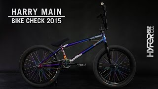 HYPER BIKES PRESENTS : HARRY MAIN 2015 BIKECHECK