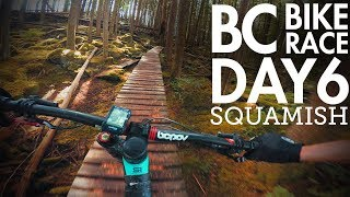 BC Bike Race - Day 6 - Squamish | Flow, Jumps,...