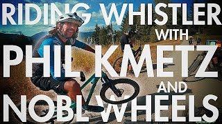 Mountain Biking 'Micro Climate' in Whistler...