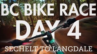 BC Bike Race - Day 4 - Sechelt to Langdale |...