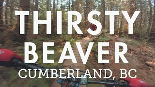 Mountain Biking 'Thirsty Beaver' in...