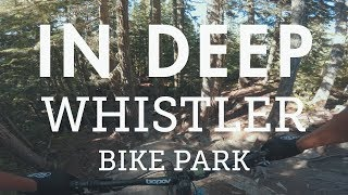 Mountain Biking the Double Black 'In Deep' in...