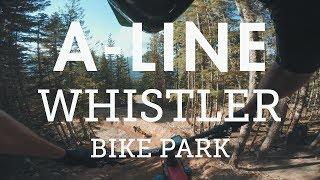 Mountain Biking a newly buffed 'A-Line' |...
