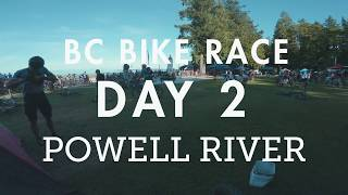 BC Bike Race - Day 2 - Powell River | Sprint...