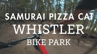 Mountain Biking 'Samurai Pizza Cat' in the...