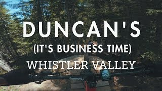 Mountain Biking 'Duncan's (It's Business...