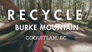 Mountain Biking Burke Mountain - Recycle,...