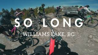 Mountain Biking 'So Long' with a big group in...