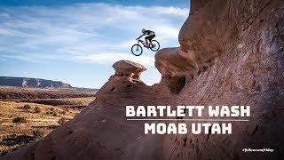 Slickrock Skate Park   Bartlett Wash, Moab MTB