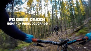 Fooses Creek MTB | Monarch Pass Colorado in 4K
