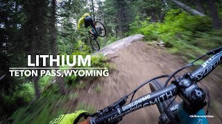 Riding Lithium on Teton Pass, WY in 4K