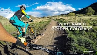 Mountain Biking White Ranch | Golden, Colorado