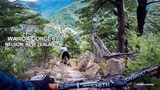 Wairoa Gorge Bike Park in Nelson, New Zealand