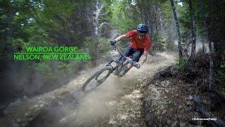 Mountain Biking Wairoa Gorge in Nelson, New...