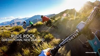 Mountain Biking Rude Rock Trail in Queenstown,...