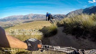 Mountain Biking Cheeseman DH in Craigieburn,...