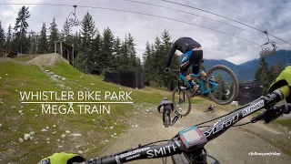 Whistler Bike Park Mega Train