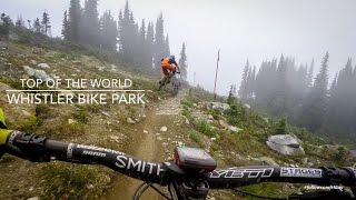 Mountain Biking Top Of The World, Whistler...