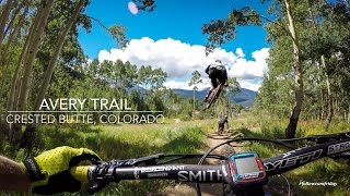 Mountain Biking Avery Trail in Crested Butte,...