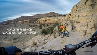 Mountain Biking Horsethief Bench, Grand...