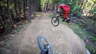 A-Line to Crabapple, Whistler Bike Park