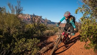 Sarah Shredding Sedona