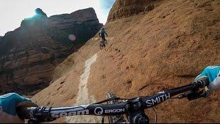 Mountain Biking the White Line in Sedona, Arizona