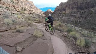 Mountain Biking Porcupine Rim Trail- Moab, Utah