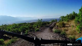 Mountain Biking Levitate Trail in Corner...