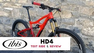 2018 Ibis HD4 Test Ride & Review