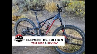 2017 Rocky Mountain Element Test Ride & Review