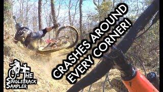 1 Mountain Bike Ride, 9 Crashes (That I got on...