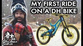 Downhill Mountain Bike vs. Horseface //...