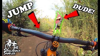 A NEW KIND OF MOUNTAIN BIKING OBSTACLE