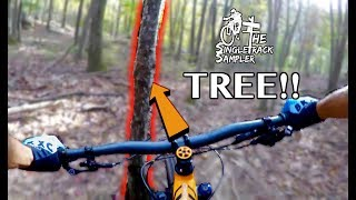 HIGH SPEED BAR SHOT STRAIGHT TO THE TREE!! //...