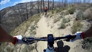 Fisher Creek Loop 1st downhill section