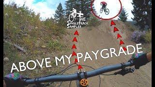 GAP JUMPS STILL SCARE ME // Mountain biking...