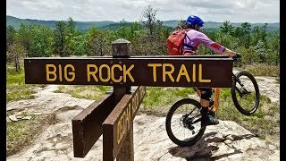 Not Moab slick rock... Asheville BIG ROCK!!...
