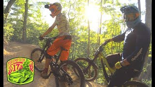 BADASS DH MTB AT BAILEY!!!  Brian and I ride...